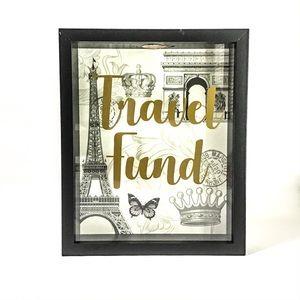 Travel Fund Shadow Box Bank  NWOT